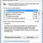 Windows 7: Limpiar temporales